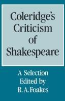Download Coleridge's Criticism of Shakespeare