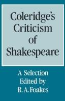 Download Coleridge's criticism of Shakespeare