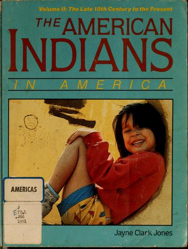 The American Indians in America