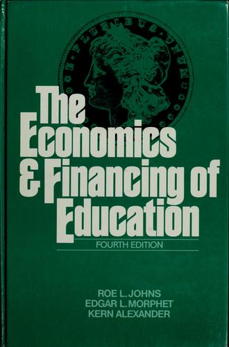 The economics and financing of education