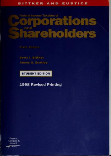 Download Federal income taxation of corporations and shareholders
