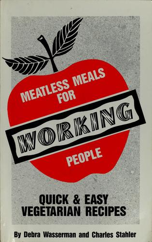 Meatless meals for working people