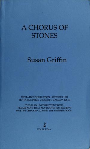 Download A chorus of stones