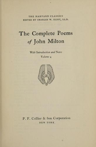 Download The complete poems of John Milton