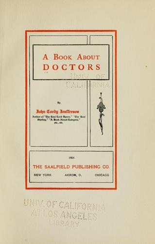 Download A book about doctors