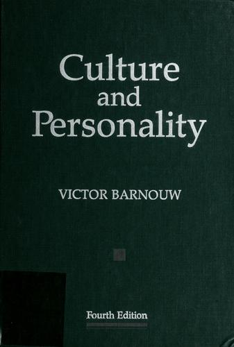 Download Culture and personality