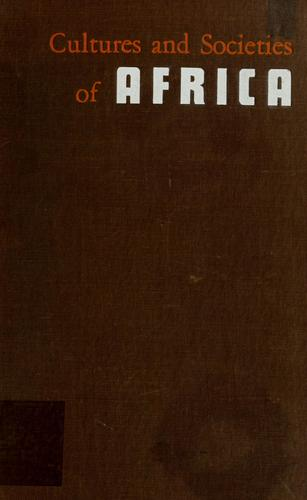 Download Cultures and societies of Africa.