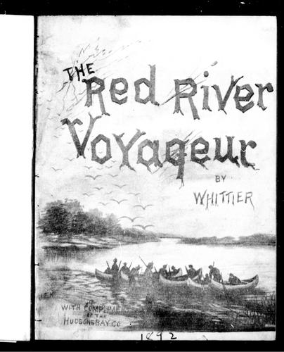 The Red River voyageur