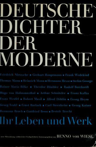 Deutsche Dichter der Moderne.