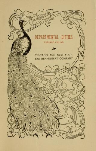 Download Departmental ditties
