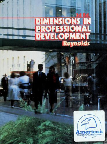 Download Dimensions in professional development