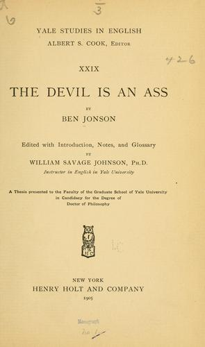 Download The devil is an ass