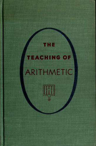 Download The teaching of arithmetic.