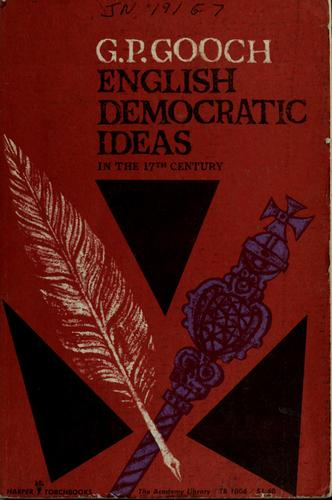 Download English democratic ideas in the seventeenth century