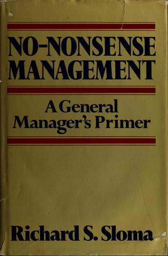 Download No-nonsense management