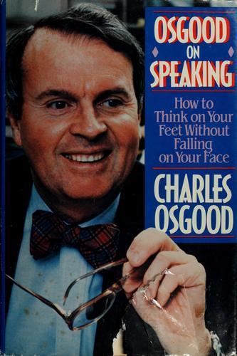 Osgood on speaking
