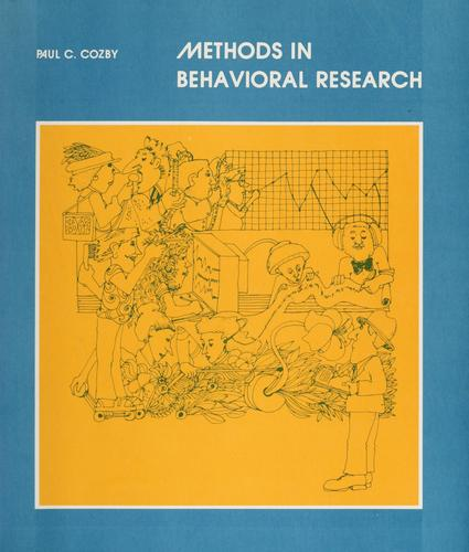 Download Methods in behavioral research