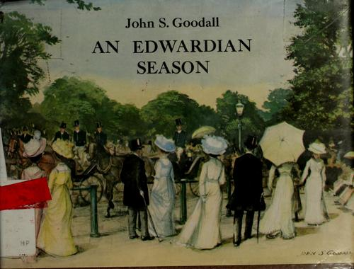 Download An Edwardian season