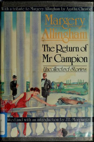 Download The return of Mr. Campion