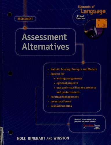 Assessment Alternatives Eolang 2001 G 9