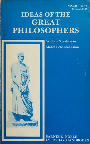 Download Ideas of the great philosophers