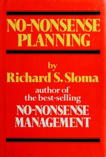 No-nonsense planning
