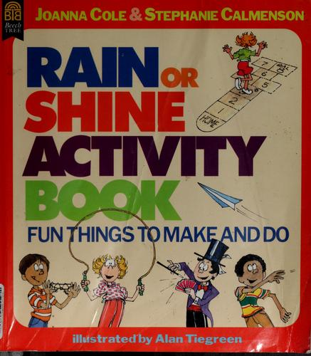 The rain or shine activity book