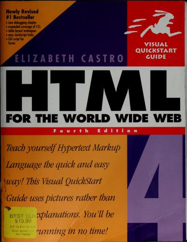HTML 4 for the World Wide Web