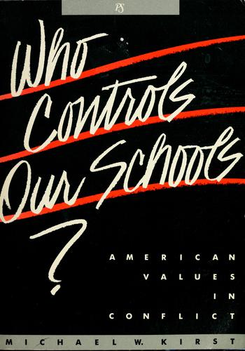 Download Who controls our schools?