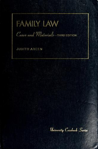Download Cases and materials on family law