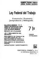 ley federal del trabajo texto Ley federal del trabajo