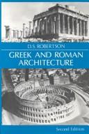 A Handbook of Greek & Roman architecture