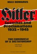 Download Speeches and proclamations, 1932-1945