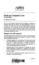 Download Scott on computer law