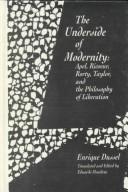 The underside of modernity