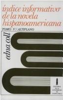 Indice informativo de la novela hispanoamericana