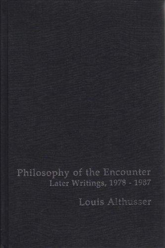 Download Philosophy of the Encounter