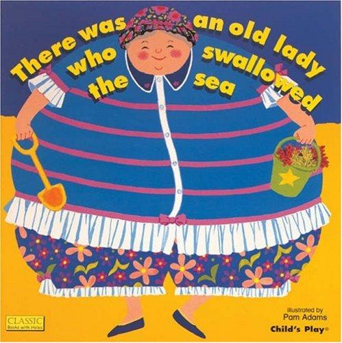 Download There Was an Old Lady Who Swallowed the Sea (Classic Books With Holes)