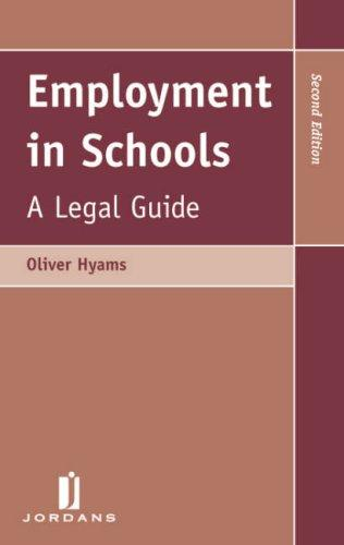 Download Employment in Schools