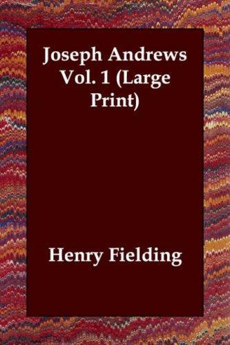 Download Joseph Andrews Vol. 1 (Large Print)