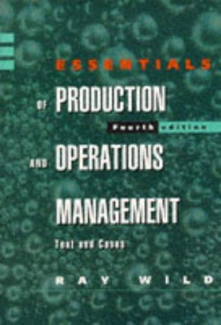 Download Essentials of Production and Operations Management