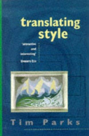 Download Translating Style
