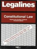 Legalines: Constitutional Law