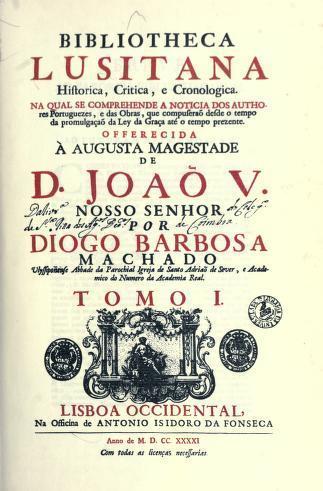 Download Bibliotheca lusitana historica, critica, e cronologica.