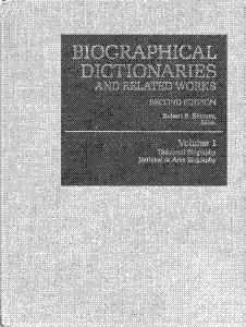 Biographical dictionaries and related works