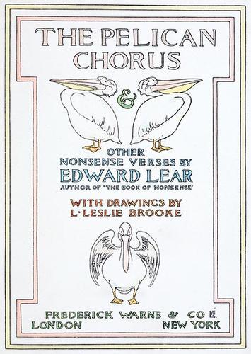The pelican chorus & other nonsense verses