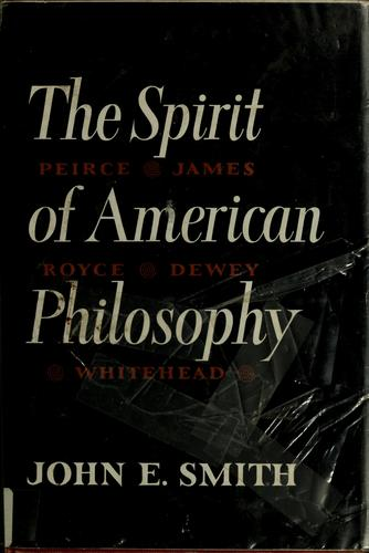 The spirit of American philosophy.