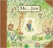 Book Cover: 'Me … Jane' by Patrick McDonnell