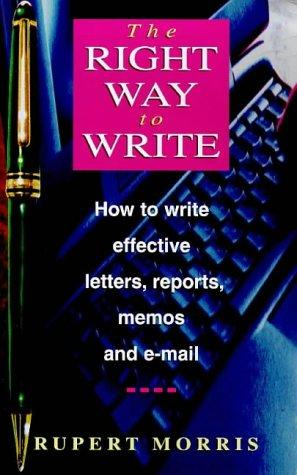 Right Way to Write