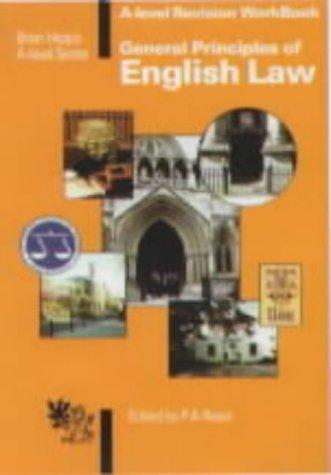 General Principles of English Law ('A' Level)